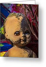 Forgotten Baby Doll Greeting Card
