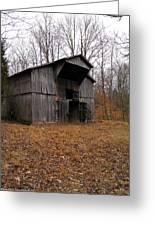 Forgotten Barn Greeting Card
