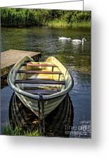 Forgotten Boat Greeting Card