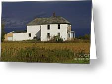 Forgotten Farm House Greeting Card