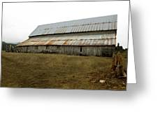 Forgotten Farmstead Greeting Card