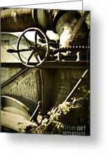 Forgotten Machine 4710 Greeting Card