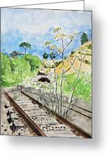 Forgotten Railway Greeting Card