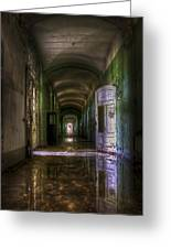 Forgotten Reflections Greeting Card