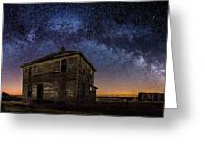 Forgotten Under The Stars  Greeting Card