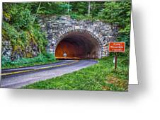 Fork Mountain Tunnel Greeting Card