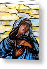 Forlorn Mary Greeting Card