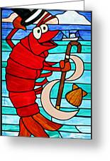Formal Lobster Greeting Card