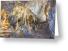 Formations In Mammoth Greeting Card