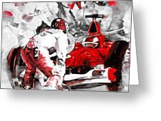 Formula 1 Bis Greeting Card