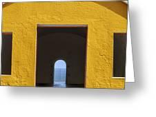 Fort Castillo San Felipe Del Morro Greeting Card by Bryan Mullennix