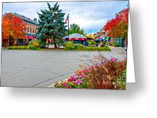 Fort Collins Fall Greeting Card by Baywest Imaging