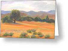 Fort Collins Foothills Greeting Card