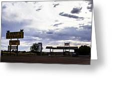 Fort Courage Trading Post Greeting Card
