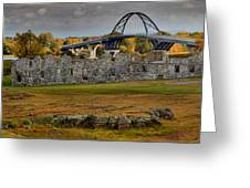 Fort Crown Point At Lake Champlain Greeting Card