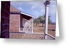 Fort Davis Perspective Greeting Card