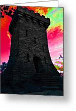 Fort Ethan Allen Abstract Greeting Card
