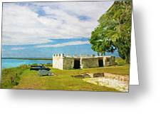 Fort Frederica Greeting Card