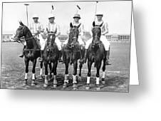 Fort Hamilton Polo Team Greeting Card