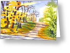 Fort Hill In Arcadia Greeting Card
