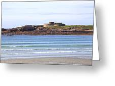 Fort Hommet - Guernsey Greeting Card