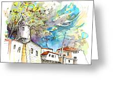 Fort In Valenca Portugal 01 Greeting Card