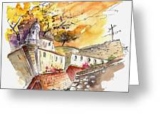 Fort In Valenca Portugal 02 Greeting Card