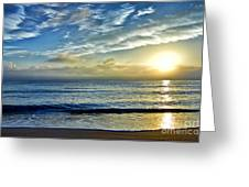 Fort Lauderdale Beach At Sunrise Greeting Card