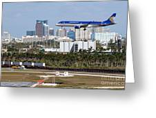 Fort Lauderdale Hollywood International Airport Greeting Card