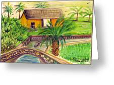 Fort Lauderdale Manistee Greeting Card