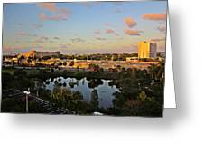 Fort Lauderdale View Greeting Card