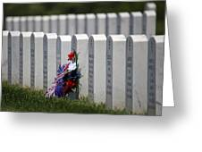 Fort Leavenworth National Cemetery Greeting Card