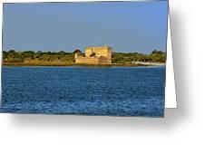 Fort Matanzas - Saint Augustine Florida Greeting Card by Christine Till