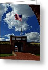 Fort Mchenry Main Gate Greeting Card