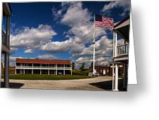 Fort Mchenry Parade Ground Barracks Greeting Card