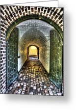 Fort Moultrie Door Greeting Card