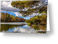 Fort Mountain State Park Lake Trail Greeting Card