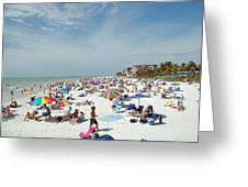 Fort Myers Beach Greeting Card
