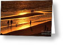 Fort Myers Beach Sunset  Greeting Card