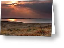 Fort Peck Lake Greeting Card