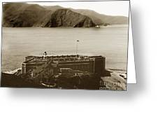 Fort Point And The Golden Gate San Francisco Circa 1890 Greeting Card