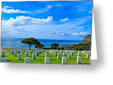 Fort Rosecrans National Cemetery 2 Greeting Card