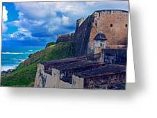 Fort San Cristobal Greeting Card
