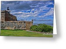 Fort San Felipe Del Morro  Greeting Card