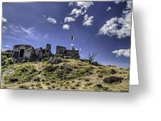 Fort St Louis St Martin Greeting Card