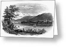 Fort Ticonderoga Ruins Greeting Card