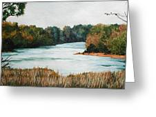 Fort Toulouse Coosa Tallapoosa River Greeting Card