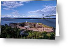 Fort Wadsworth Greeting Card