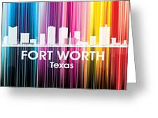 Fort Worth Tx 2 Greeting Card