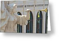 Fort Worth's Angel Greeting Card